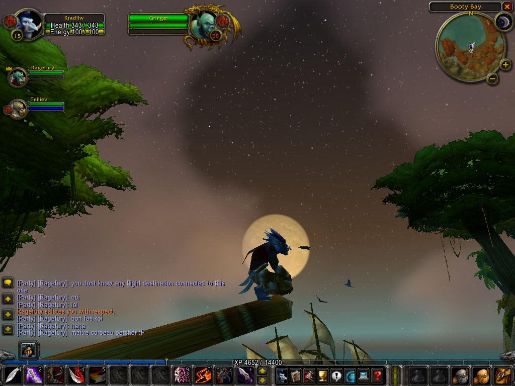 Ce troll doit avoir une vue imprenable du haut de ce mât !  Merci à Guillaume pour le screenshot.