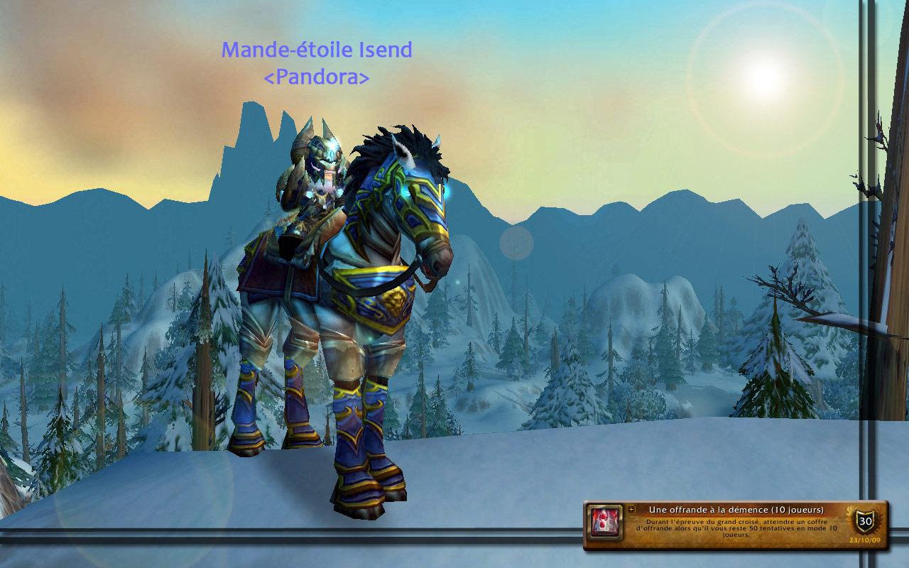 Screenshot réalisé par Isend.