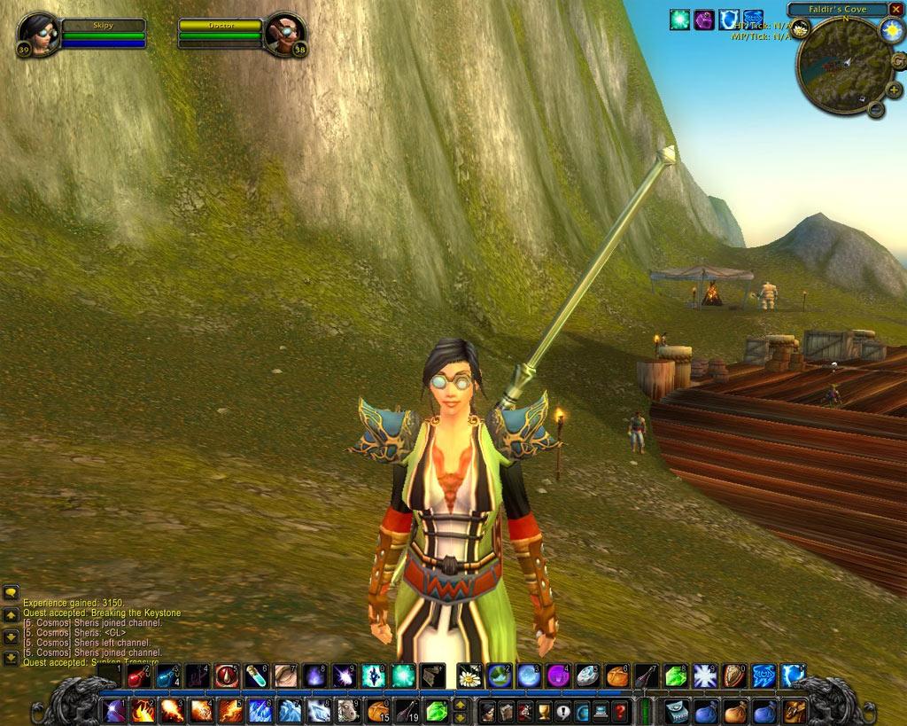 Le but du jeu est également d'avoir un look d'enfer ;)  Screenshot envoyé par Skipy.