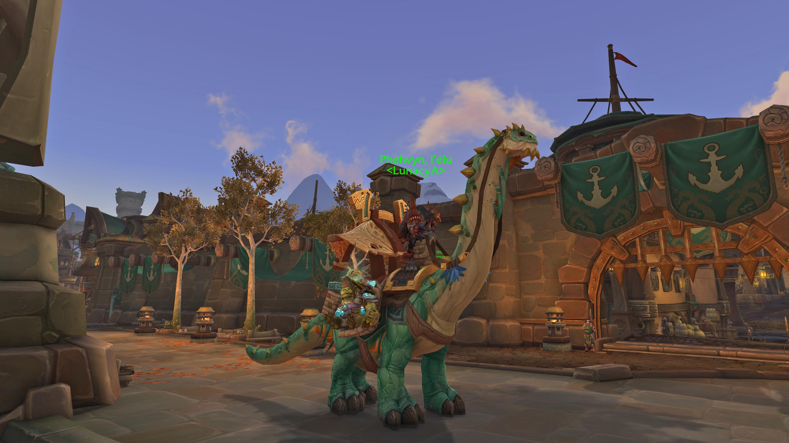 Screenshot de World of Warcraft: Battle for Azeroth réalisé par Phelwyn.