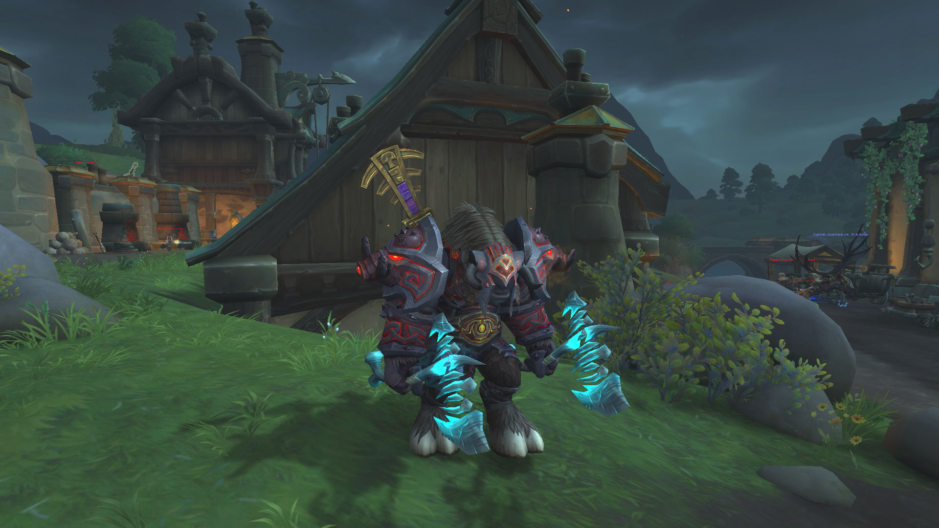 Screenshot de World of Warcraft: Battle for Azeroth réalisé par Clad49.