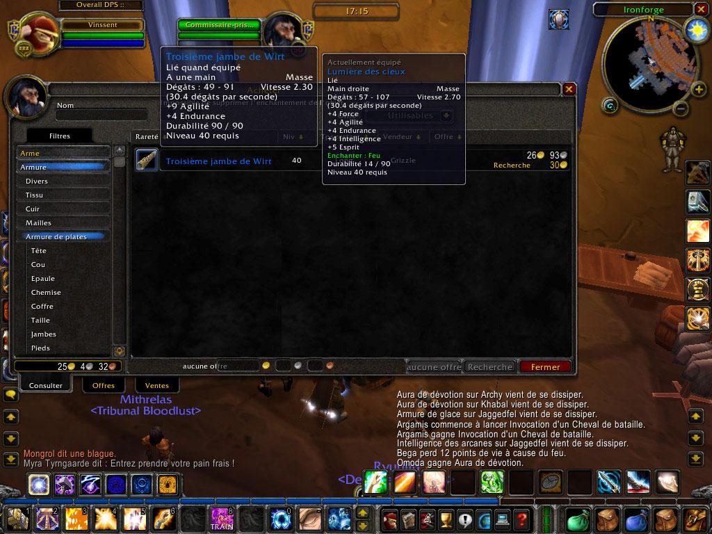 Après Warcraft III, le Wirt de Diablo fait un petit passage dan WoW. Image réalisé par Vinssent.