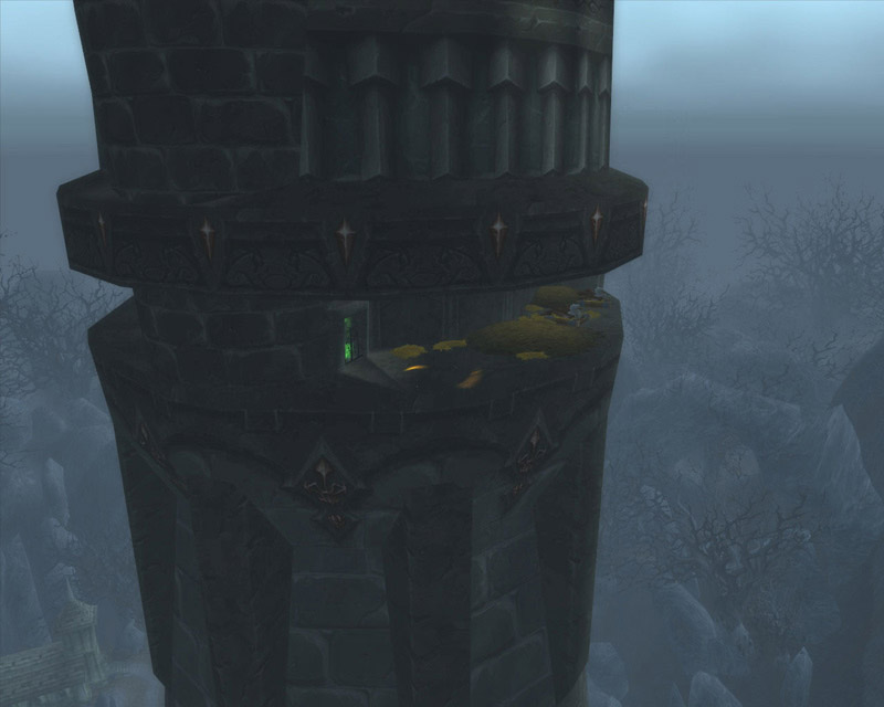 Screenshot du haut de Karazhan réalisé par Xorkalar.