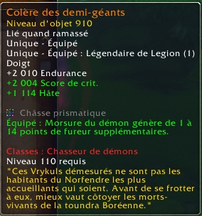 PTR 7.1.5 : Modifications légendaires build 23244