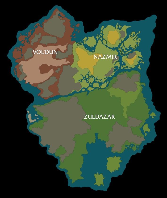 Galerie de captures d'écran de Battle for Azeroth