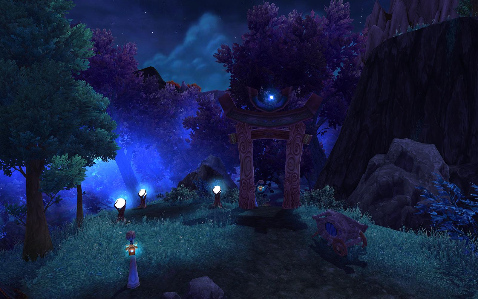 Screenshot de l'extension World of Warcraft: Warlords of Draenor.