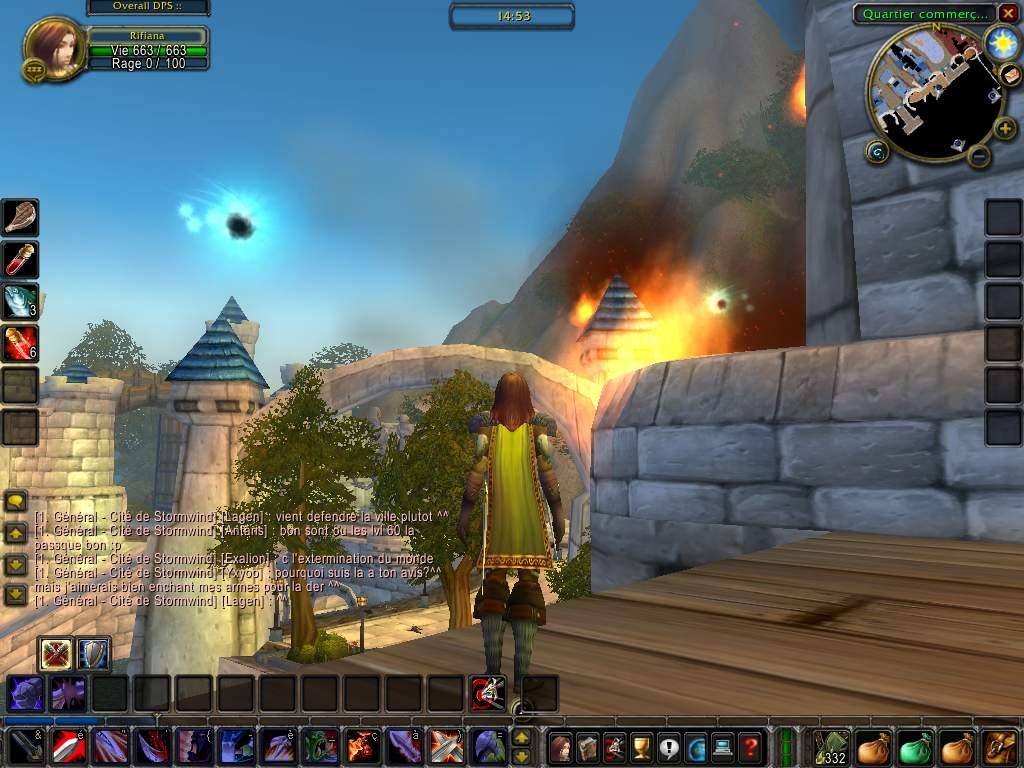 Screenshot du Beta Event européen de World of Warcraft.