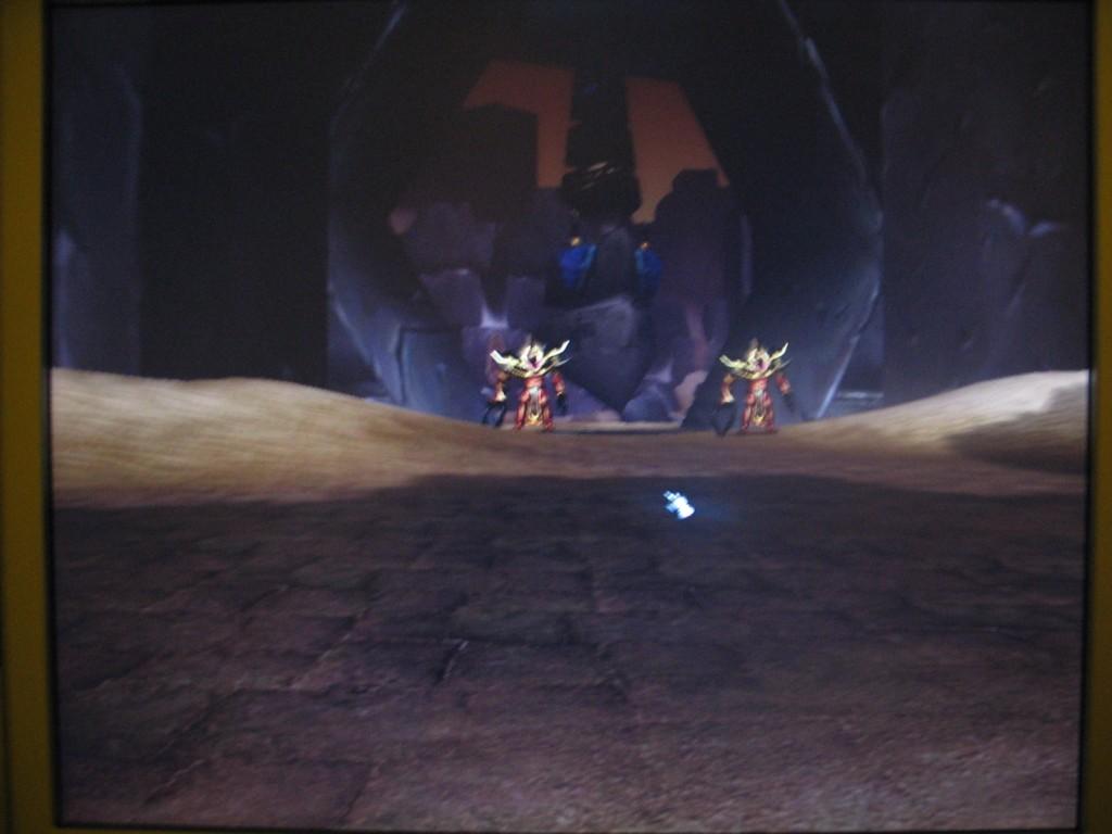 Screenshot de l'extension de WoW au BlizzCon 2005.