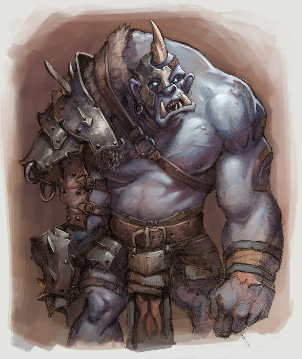 Artwork de Warlords of Draenor
