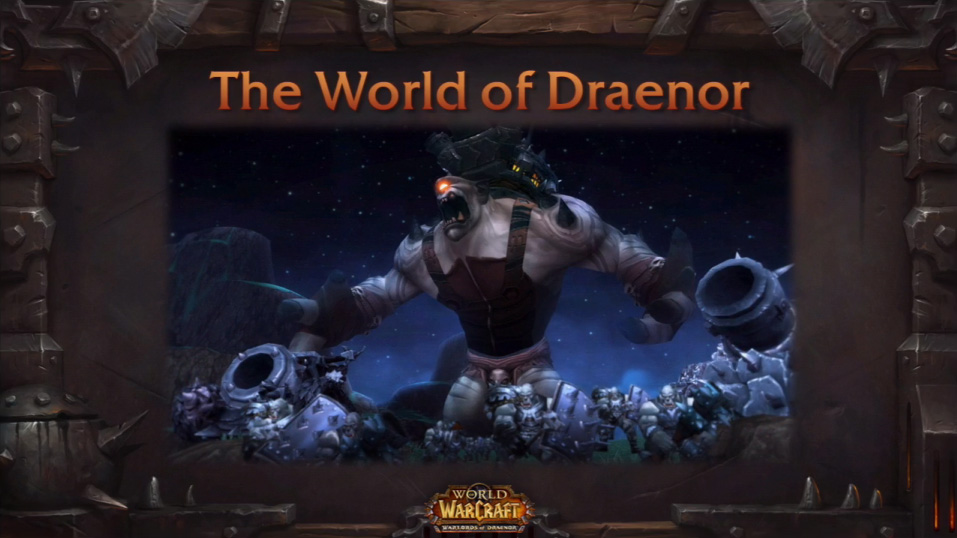 Photo de la conférence World of Warcraft : L'aventure continue