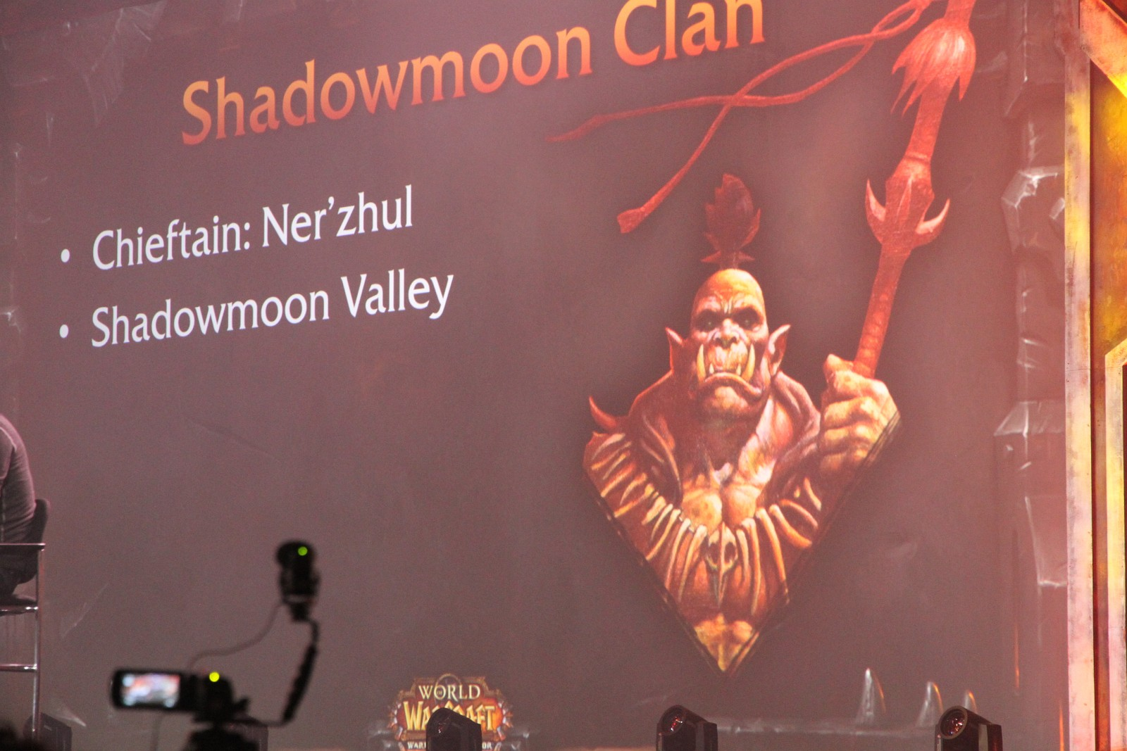 Photo de la conférence World of Warcraft : What's Next de la BlizzCon 2013