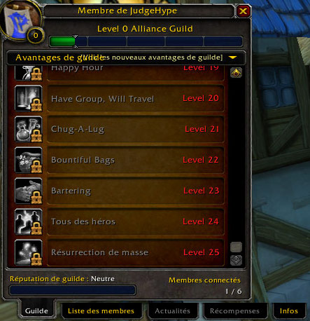 [ CATACLYSM ] Les bonus de guildes 06