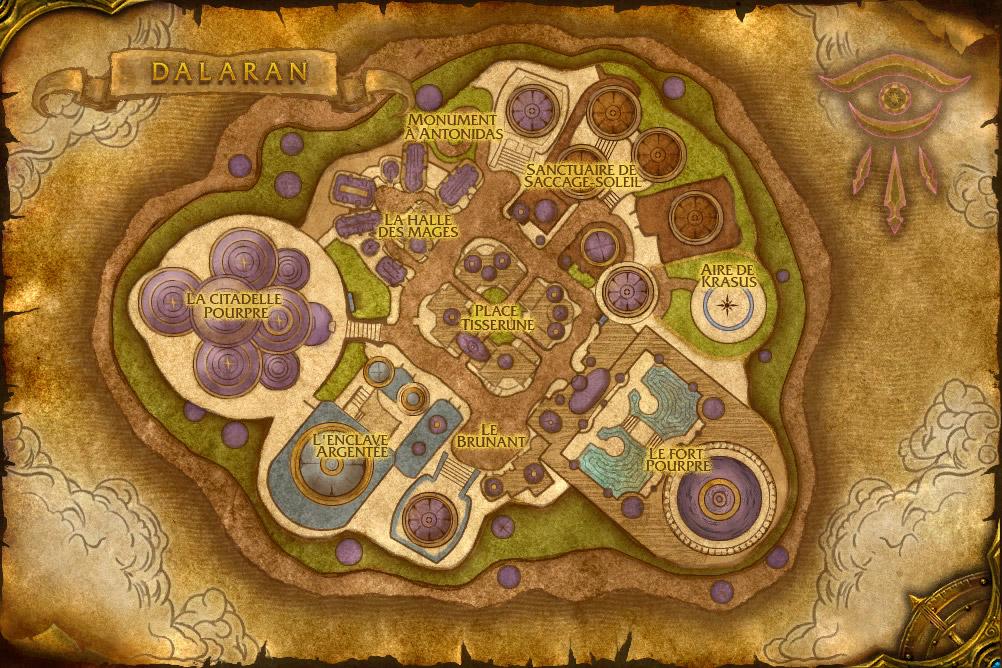 La ville mystique de Dalaran. Dalaran