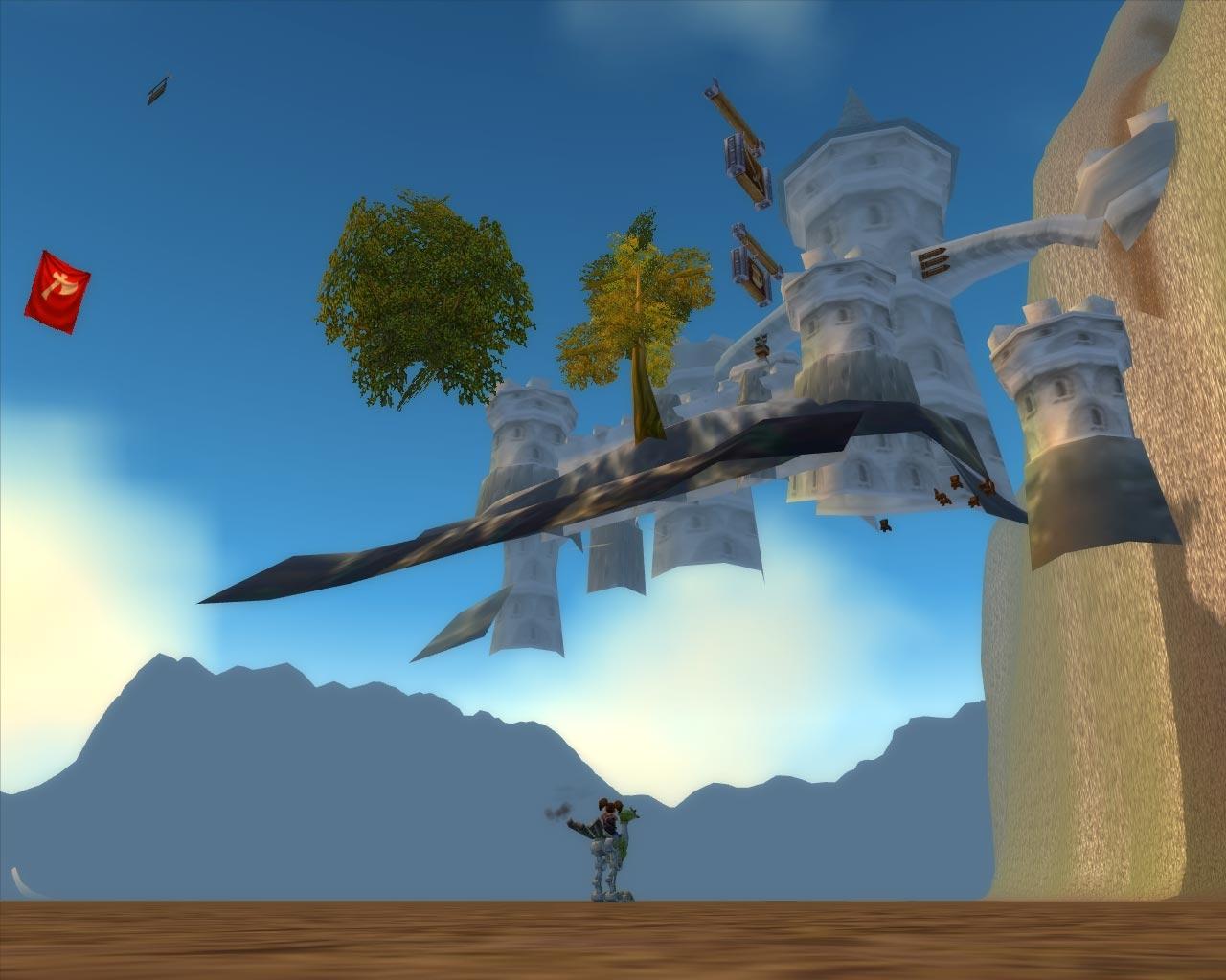 Sous-Stormwind avec un aperçu du donjon (image de WoW-Underground)