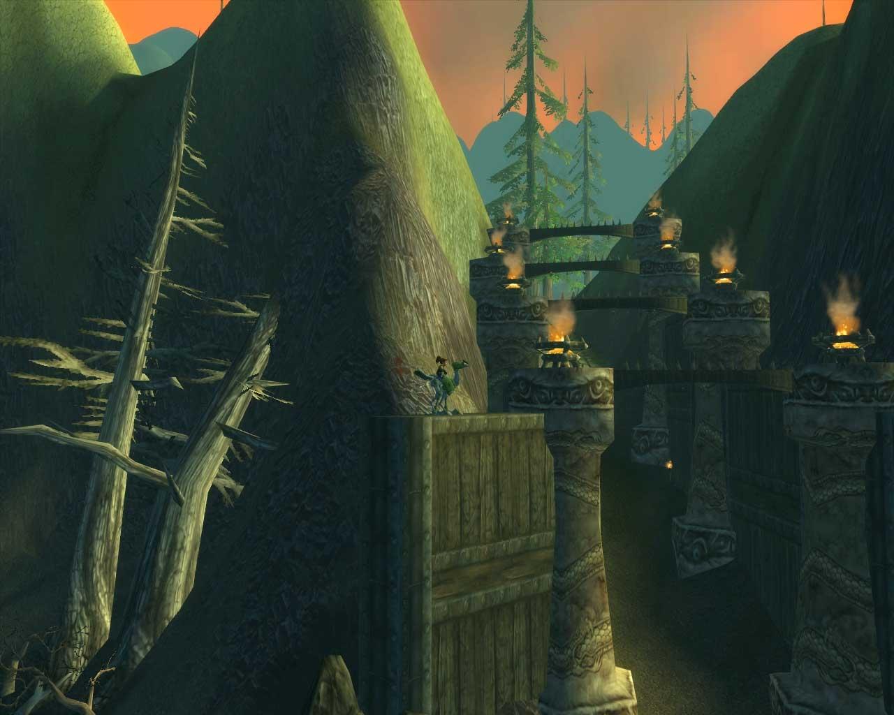 Mont Hyjal (image de WoW-Underground)