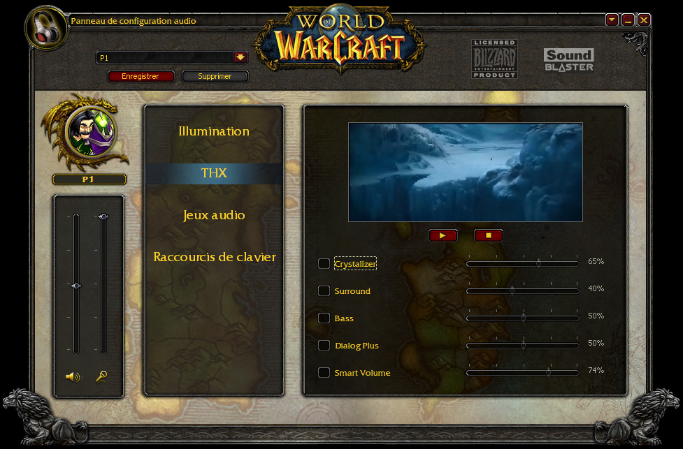 Présentation du casque Creative World of Warcraft