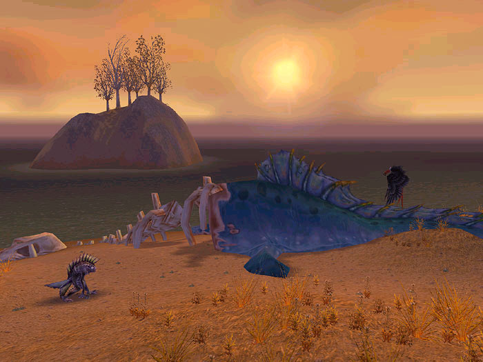 Screenshot de World of Warcraft (décembre 2002)