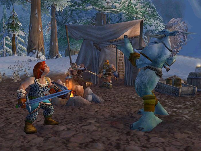 Screenshot de World of Warcraft (février 2003)