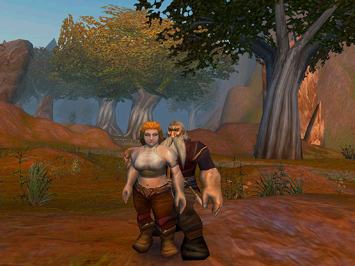 Screenshot de World of Warcraft (février 2003)