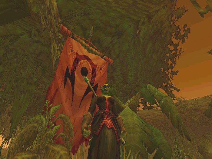 Screenshot de World of Warcraft (mai 2003)