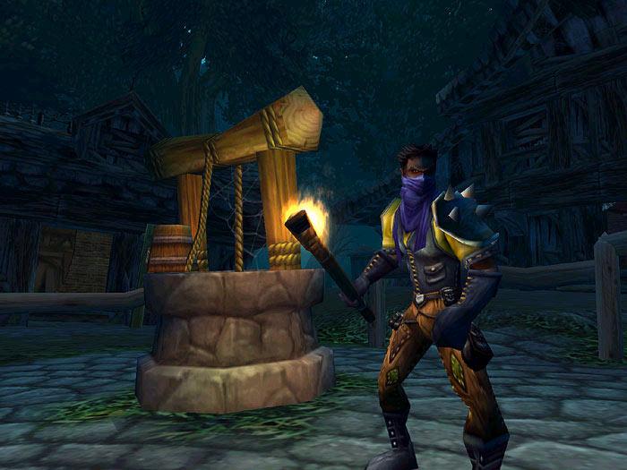 Screenshot de World of Warcraft (novembre 2002)