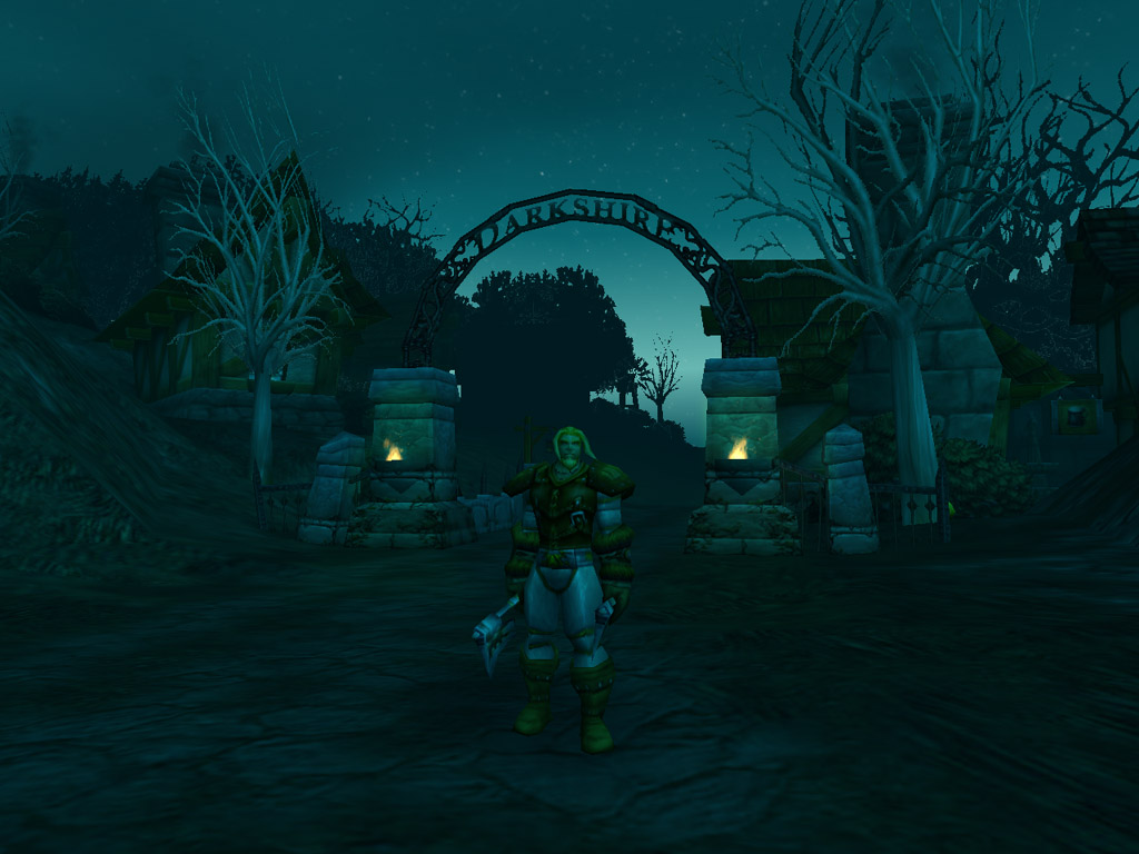 Screenshot de World of Warcraft (septembre 2001)