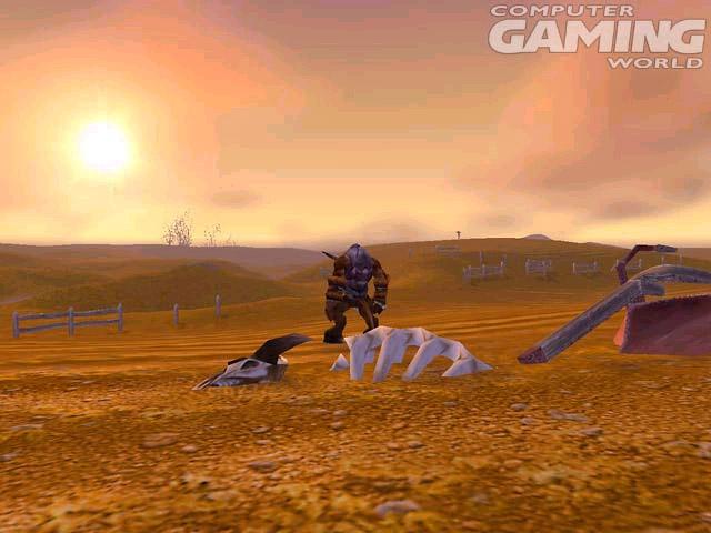 Screenshot de World of Warcraft (septembre 2001)