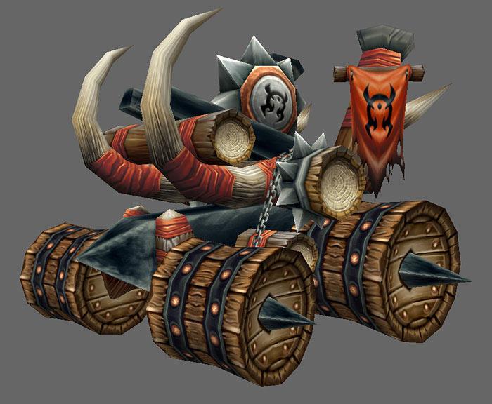 Artwork de World of Warcraft.