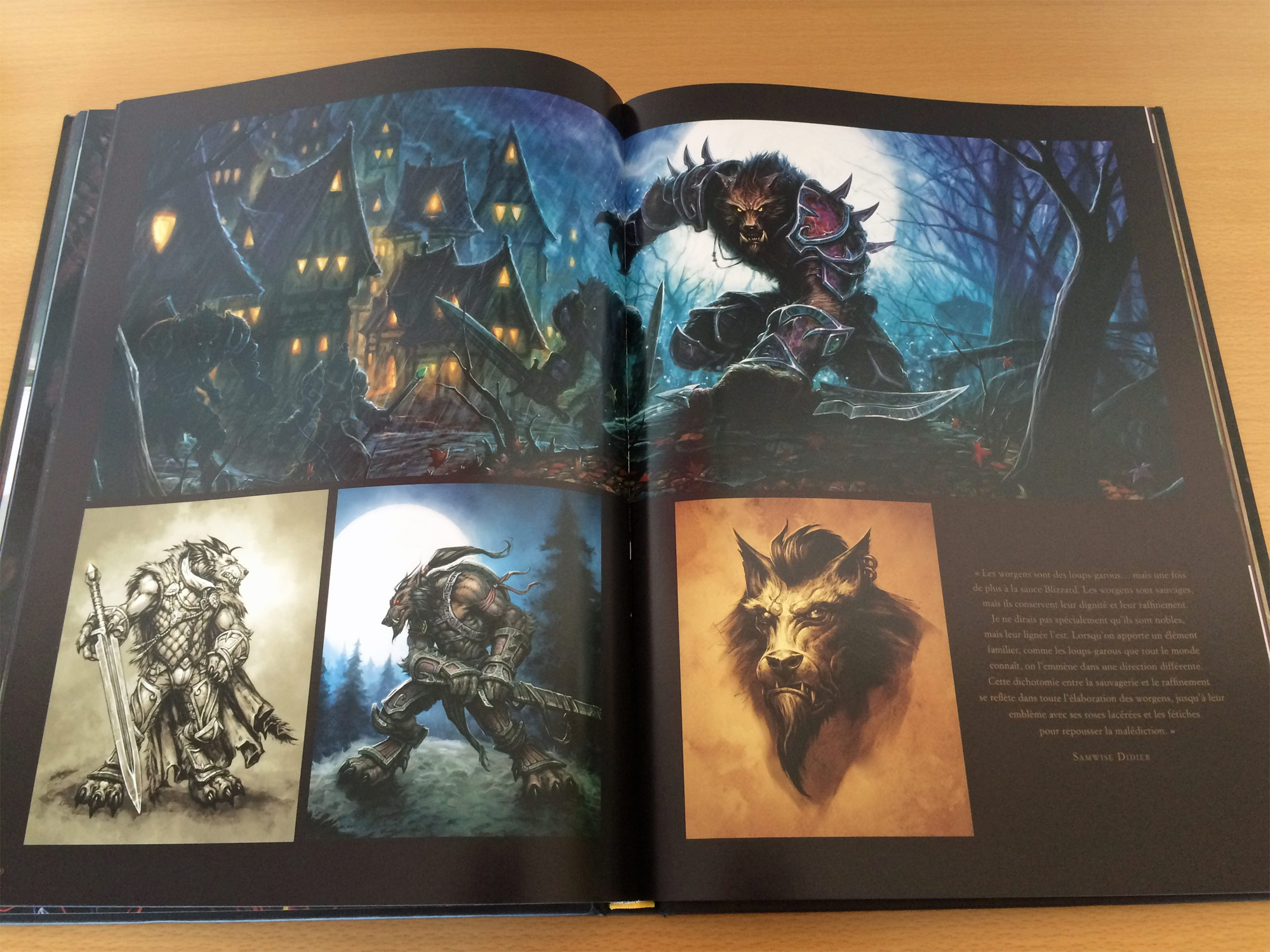 Livre The Art Of World Of Warcraft 2015 World Of