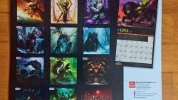 Wow Calendrier.Le Calendrier 2017 De World Of Warcraft Est De Sortie