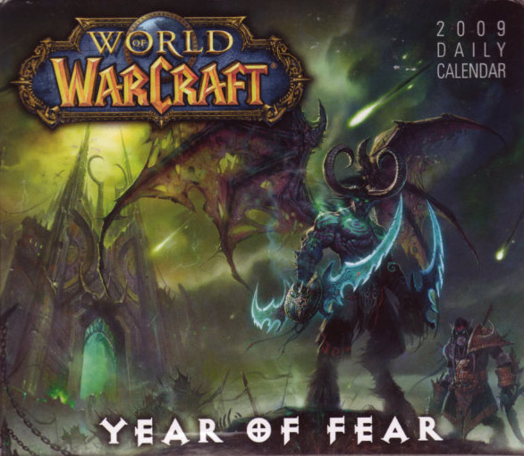 Calendrier journalier 2009 pour World of Warcraft. Edité par Sellers Publishing.