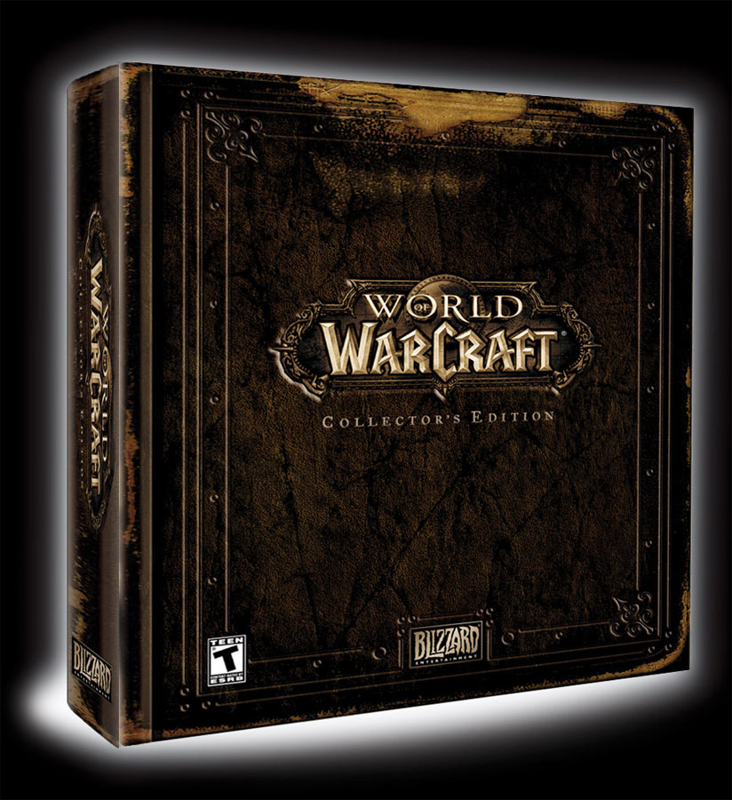 L'édition Collector de World of Warcraft (USA).