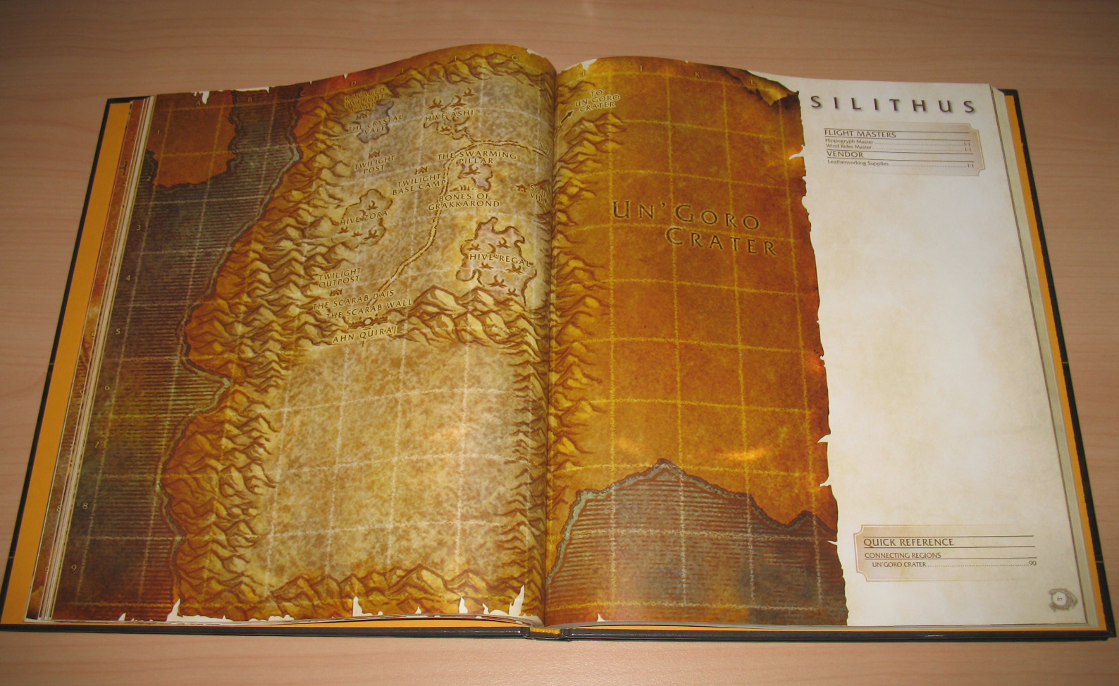 Atlas World of Warcraft édité par Bradygames, 1ère édition (2006).