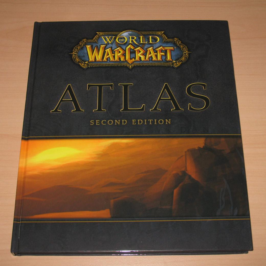 Atlas World of Warcraft édité par Bradygames, 2ème édition (2008).