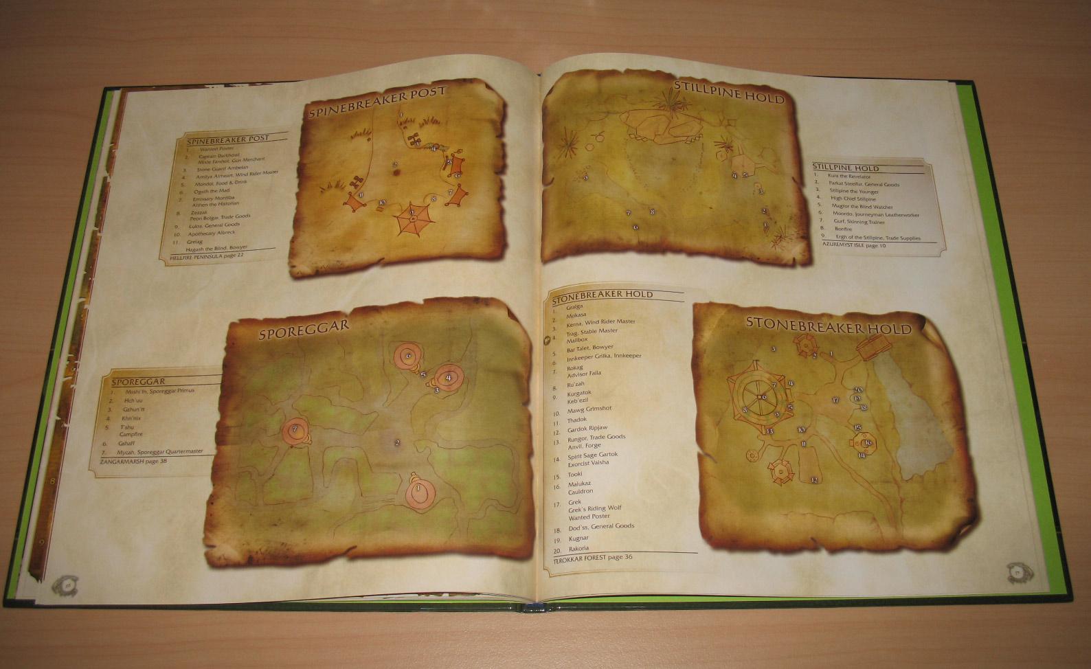 Atlas The Burning Crusade édité par Bradygames (2008).