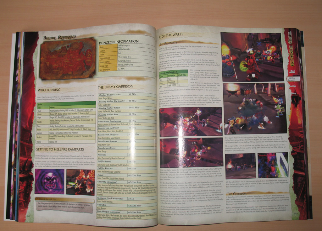 Image du Guide stratégique officiel de Burning Crusade.