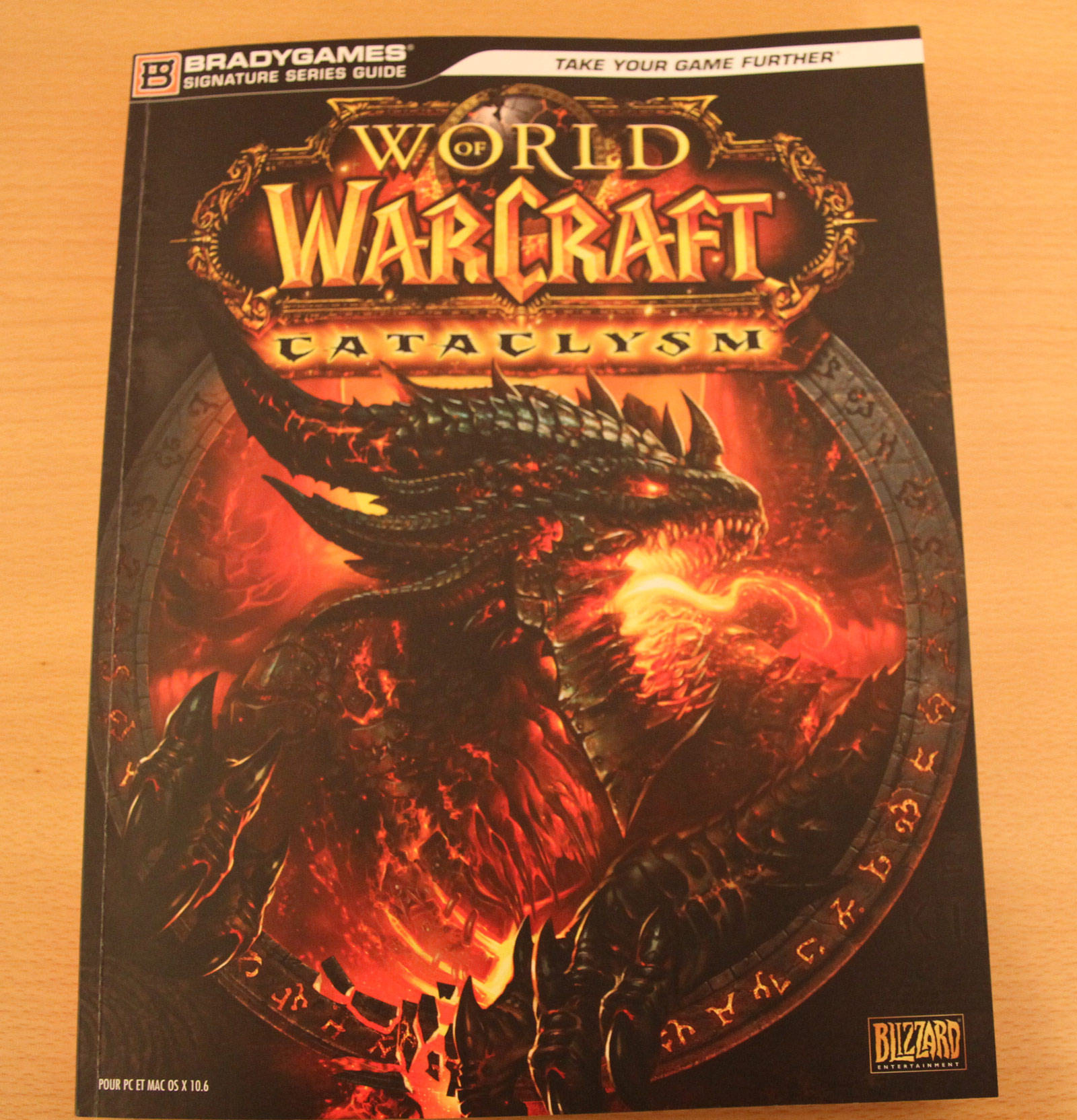 Guide stratégique officiel de World of Warcraft: Cataclysm.