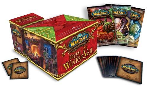 Coffret Fête du Voile d'Hiver du jeu de cartes à collectionner World of Warcraft (2007).
