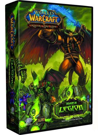 Starter Deck Marche de la Légion, du jeu de cartes à collectionner WoW.