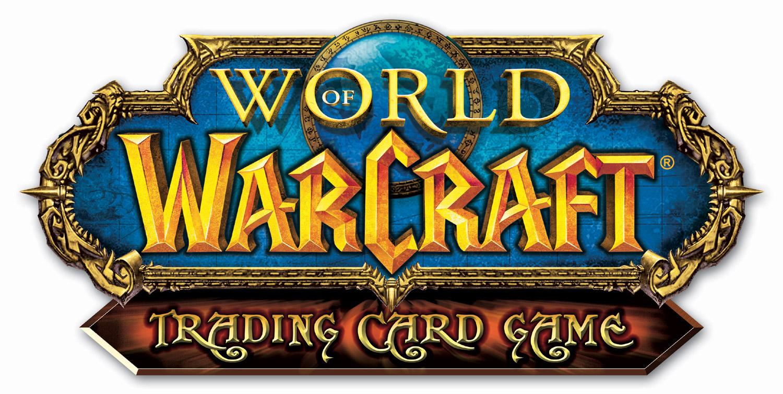 Logo du jeu de cartes à collectionner World of Warcraft.