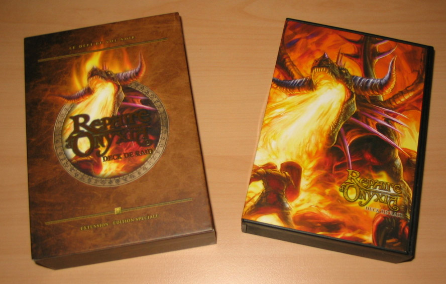 Deck de raid Onyxia, du jeu de cartes à collectionner World of Warcraft.