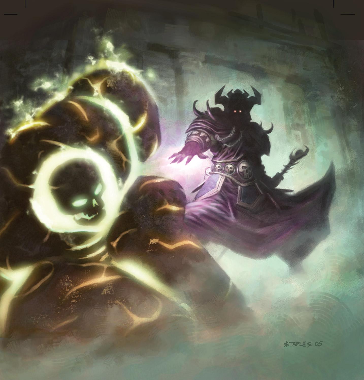 Artwork du jeu de cartes à collectionner World of Warcraft.