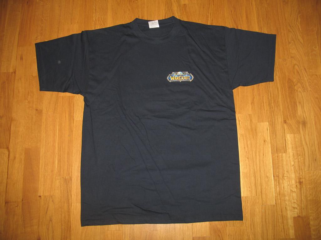 T-shirt World of Warcraft Alliance (année 2006).