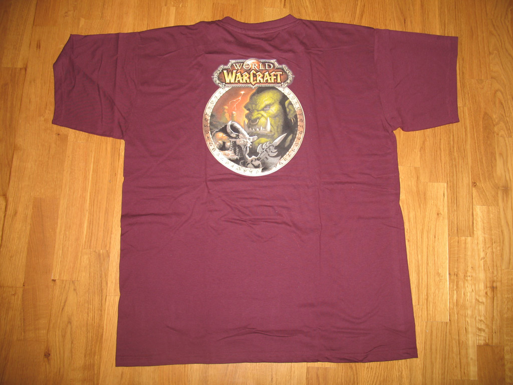 T-shirt World of Warcraft Horde (année 2006).