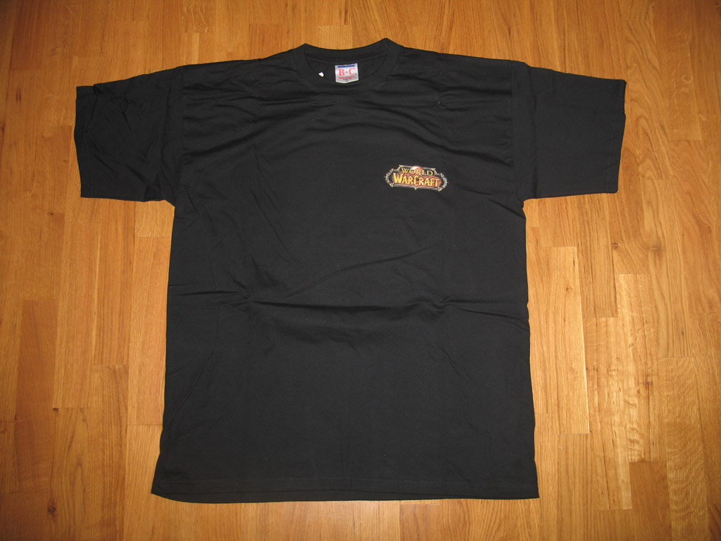 T-shirt World of Warcraft Horde (année 2005).