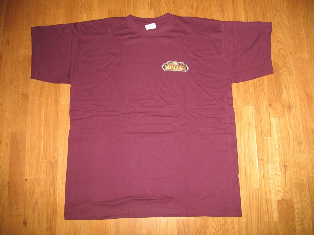 T-shirt World of Warcraft Horde (année 2006).