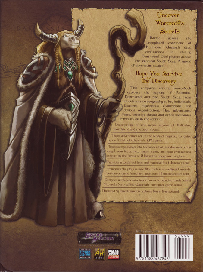 World of Warcraft RPG : Lands of Mystery.