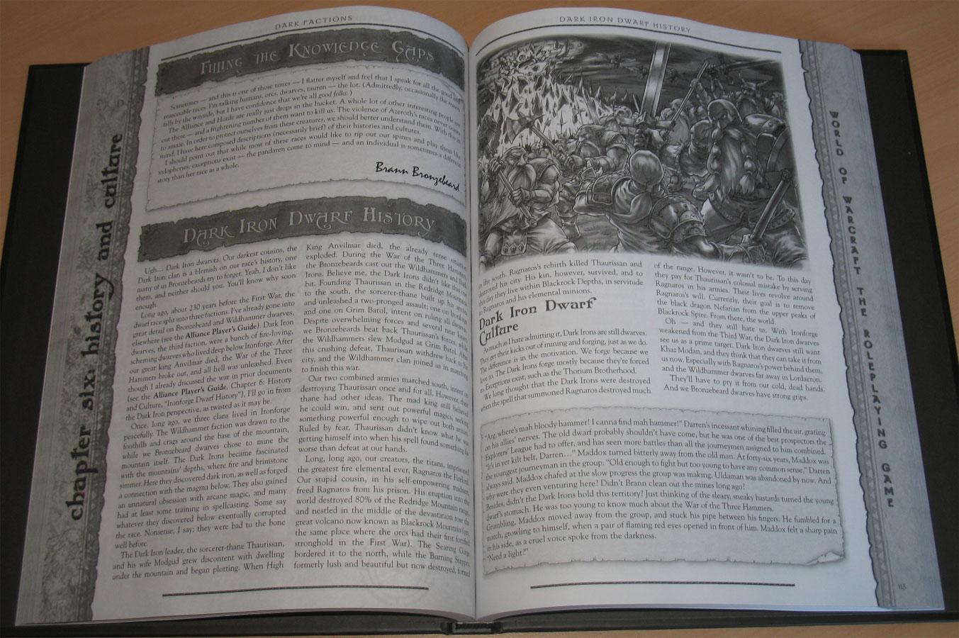 World of Warcraft RPG : Dark Factions.