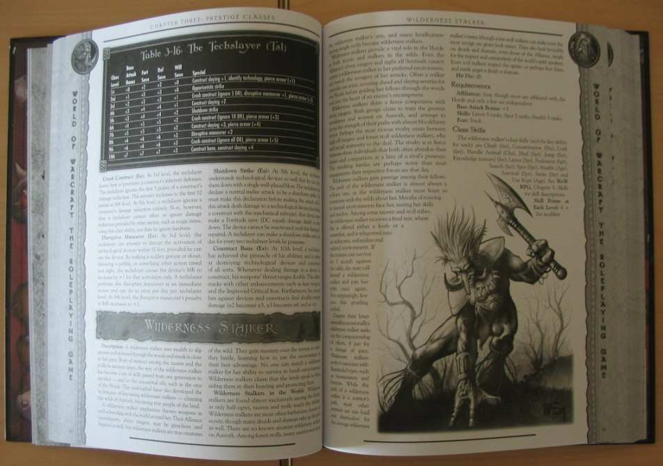 World of Warcraft RPG : Horde Player's Guide.