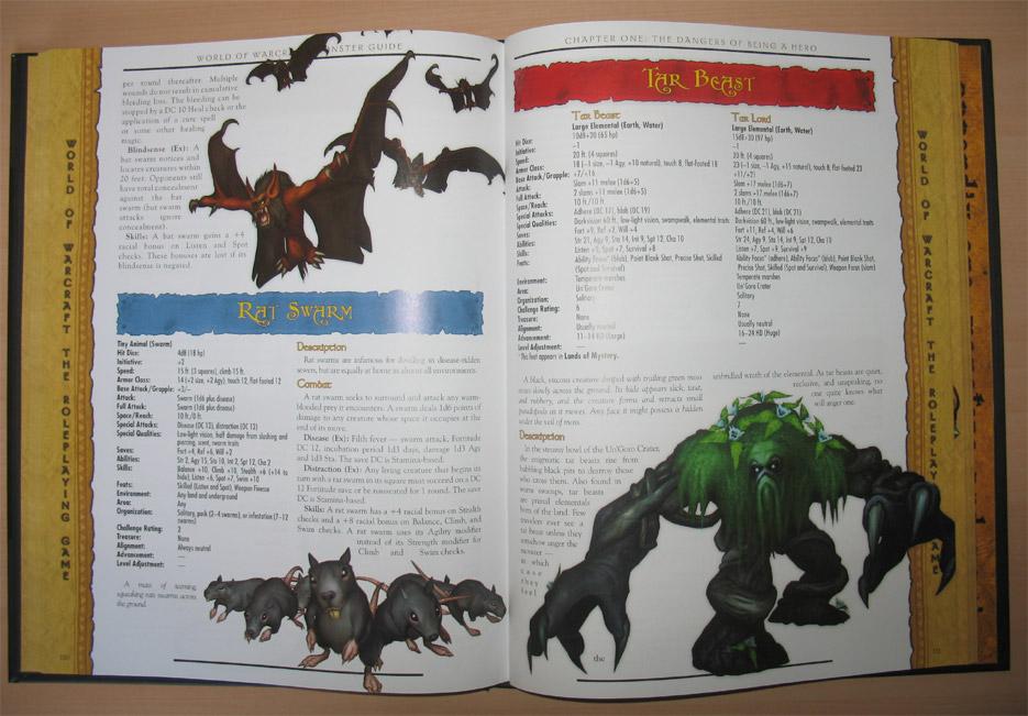 World of Warcraft RPG : Monster Guide.